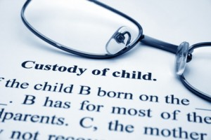 Graphic representing child custody and divorce lawyers in Omaha, NE